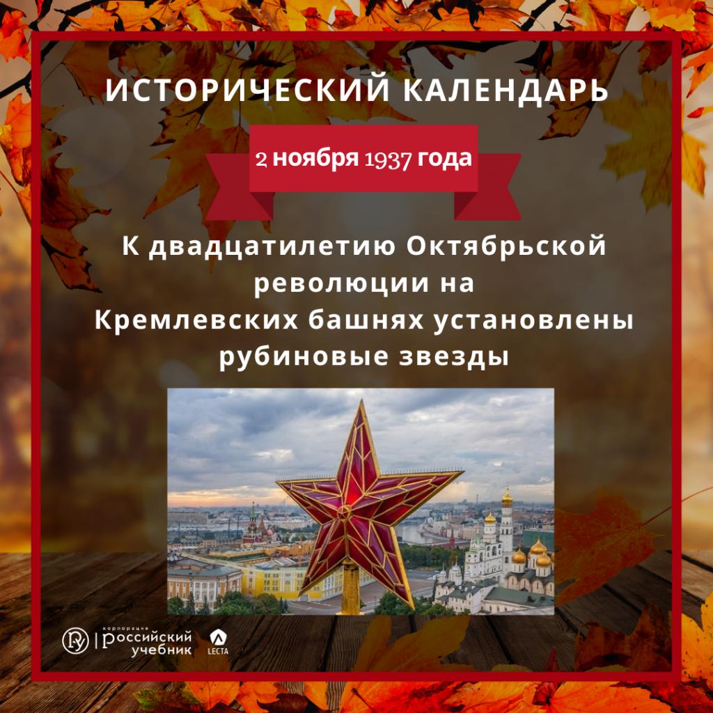 Рубиновые звёзды Московского Кремля