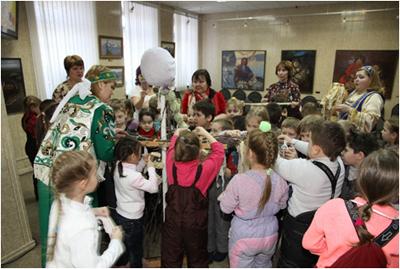 встреча гостей в русском народном стиле сценарий